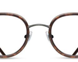 matsuda-optique-ronde-écaille-face